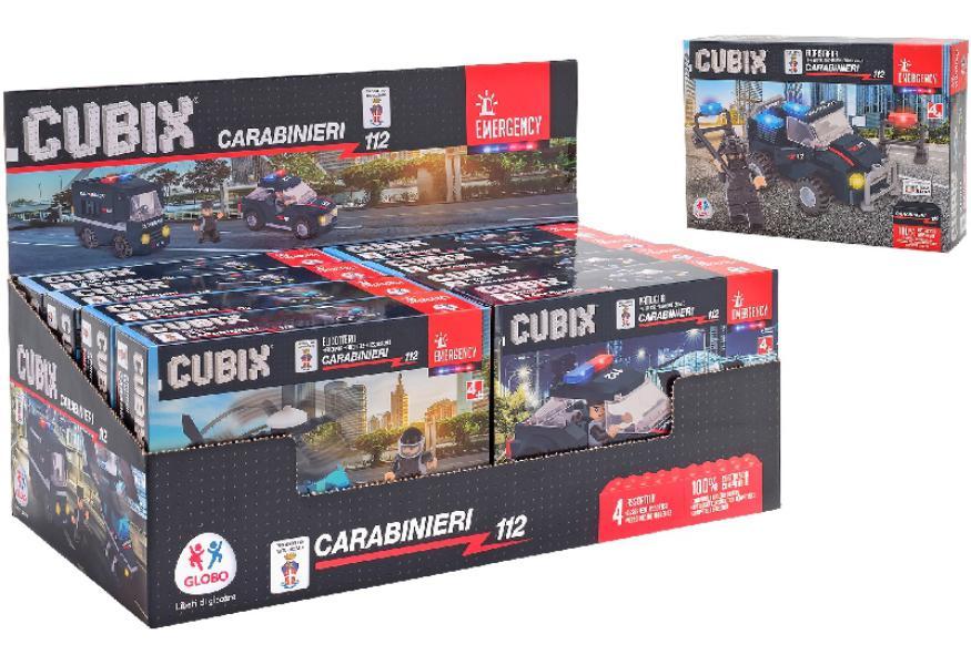 Costruzioni Mezzi Carabinieri 277pz COmpatibili LEgo CUBIX